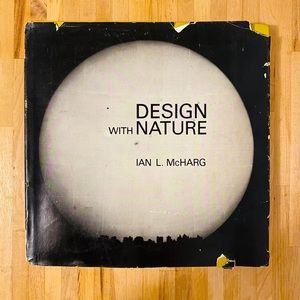 Book Design with nature - first edition hardcover